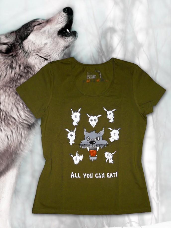 t-shirt-oliv